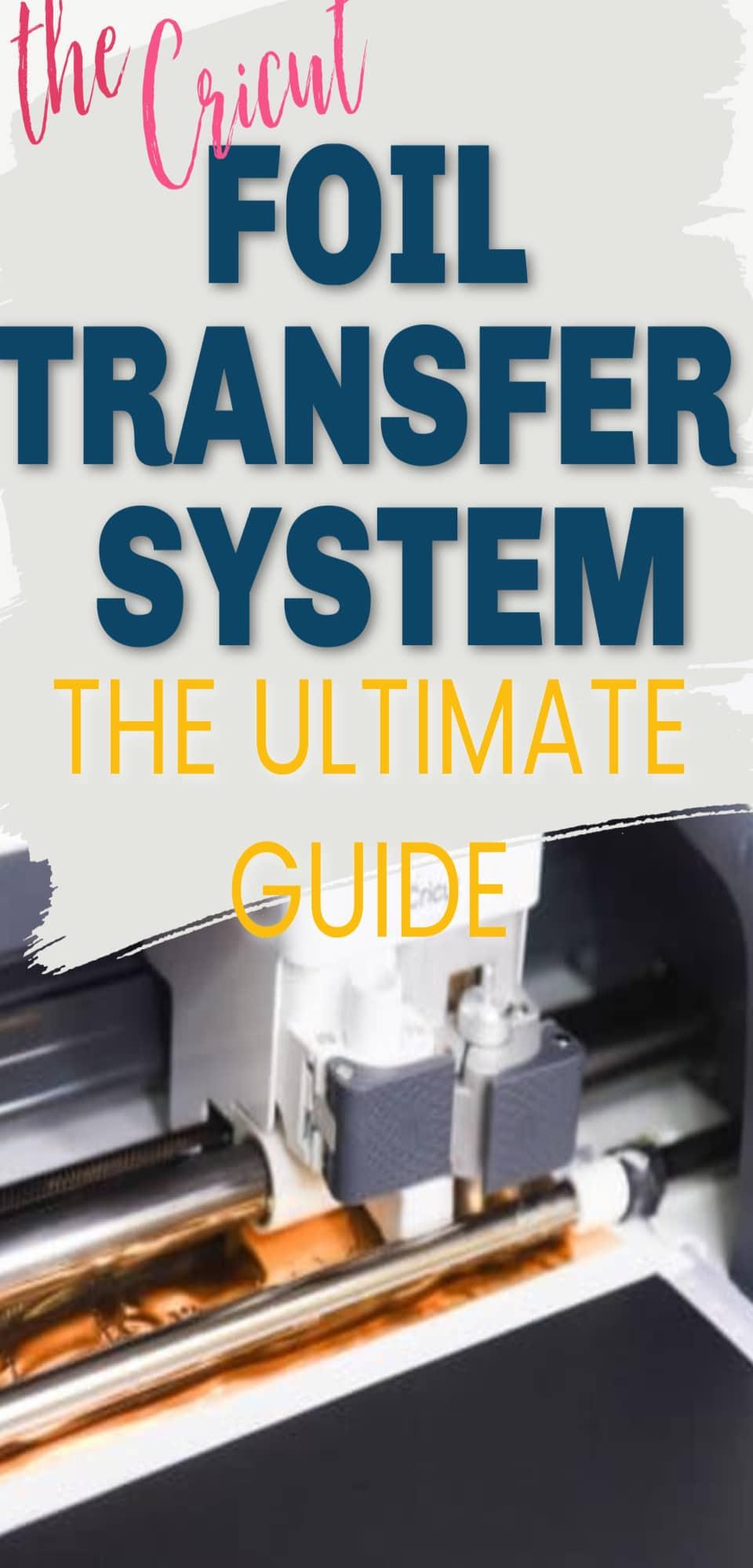The Cricut Foil Transfer Tool Kit: The Ultimate Starter Guide via @clarkscondensed
