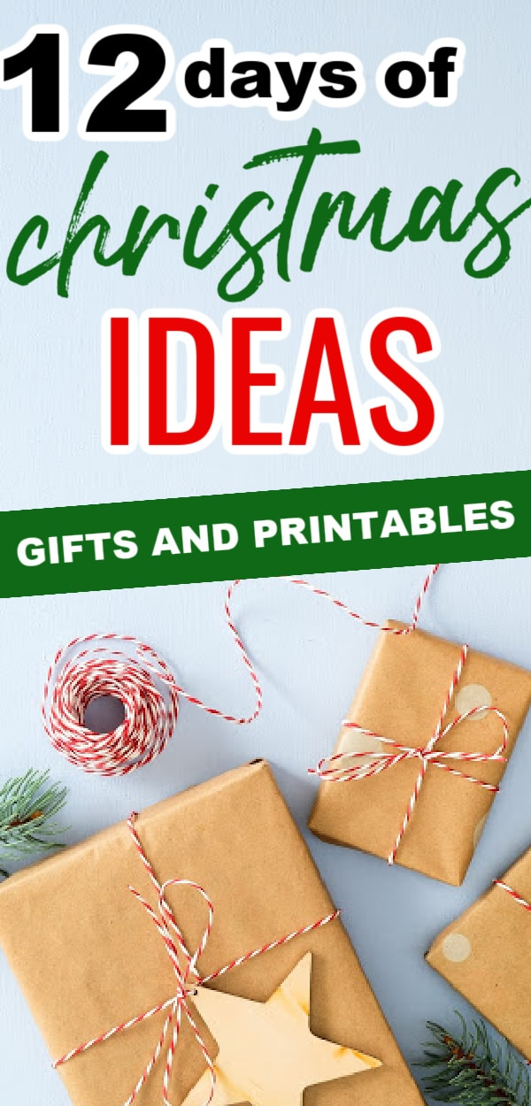 Five golden rings...Oh! Are you here for the 12 Days of Christmas Gift Ideas? Well, you are in the right place! We have the best gift ideas for this timeless tradition - along with some free printables for your gifts. via @clarkscondensed