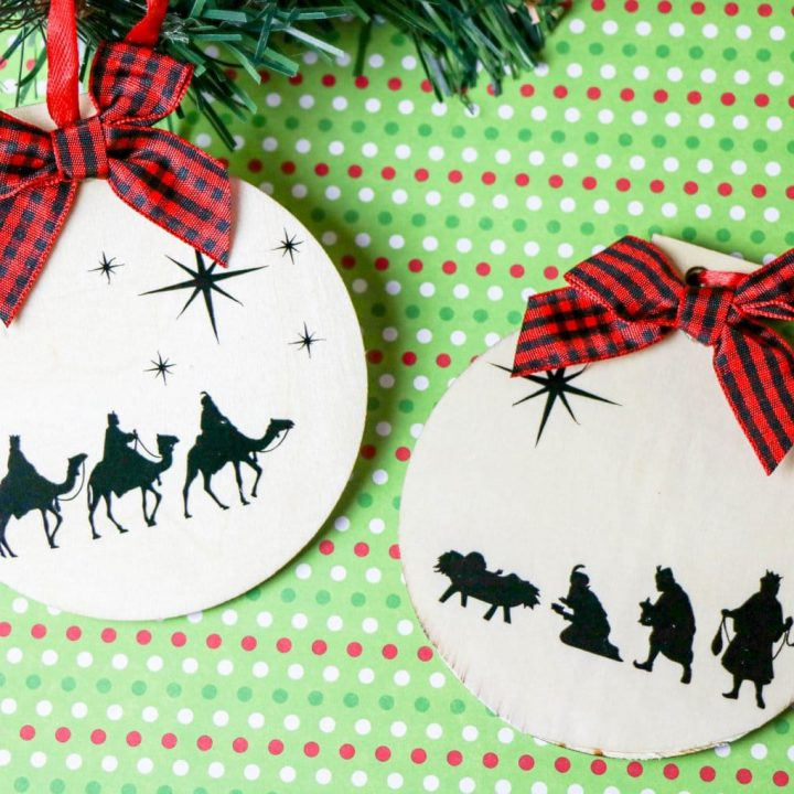 DIY Christmas Nativity Ornament