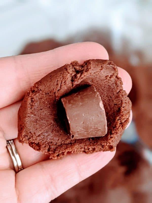 rolo inside cookie