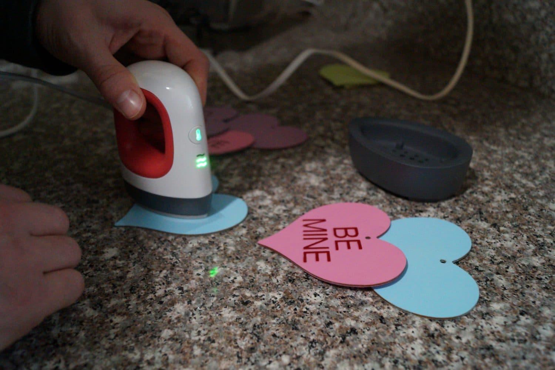 applying HTV to hearts