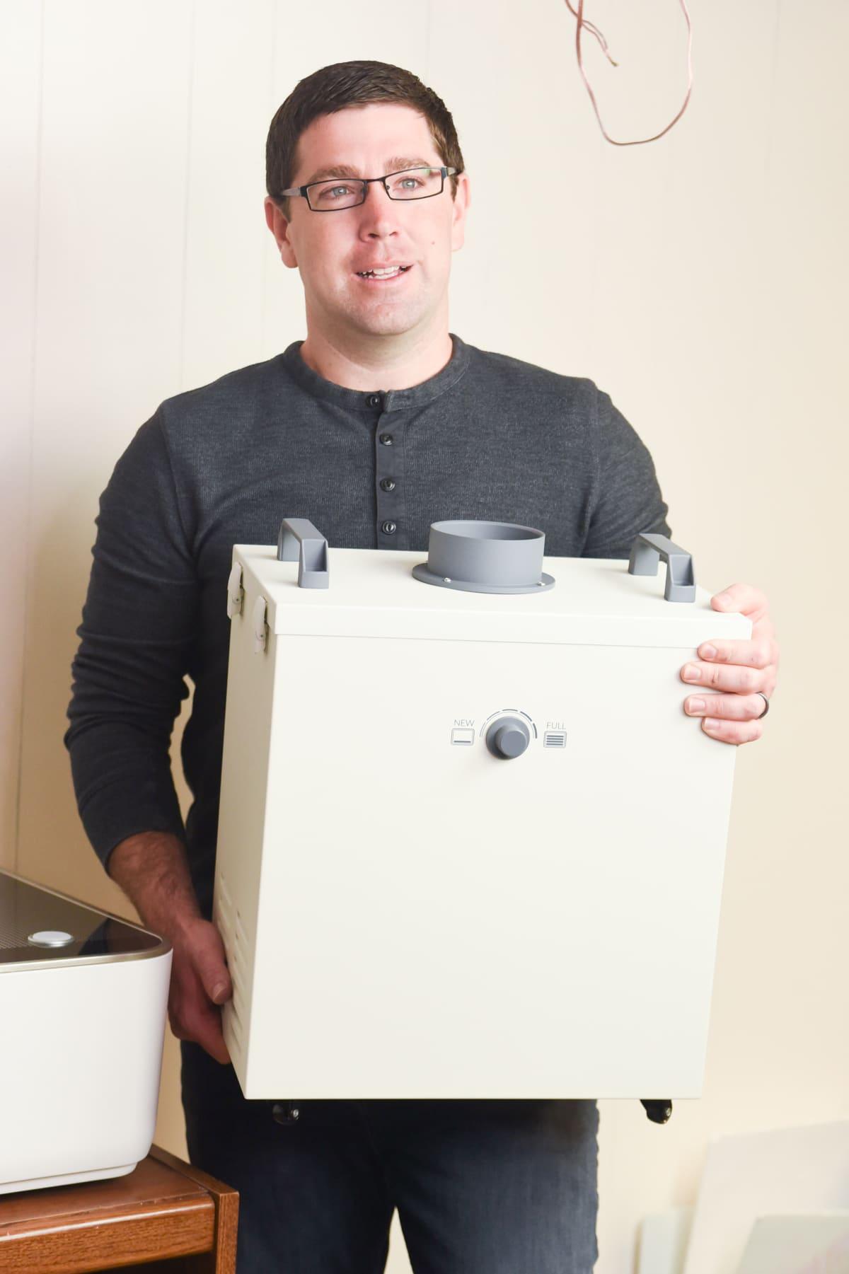 glowforge air filter