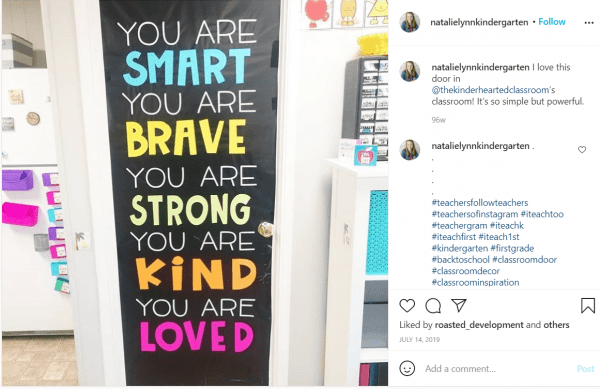 you are smart, brave, strong, kind and loved