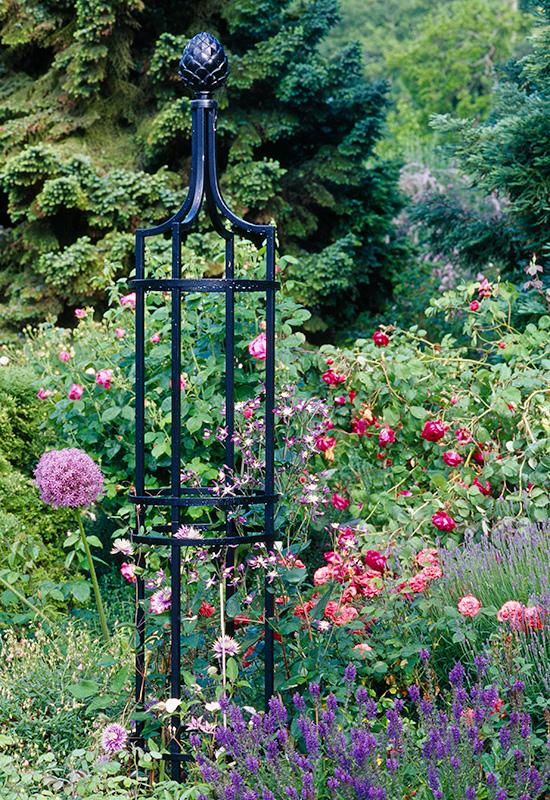 Order Robust Metal Obelisks Online Classic Garden