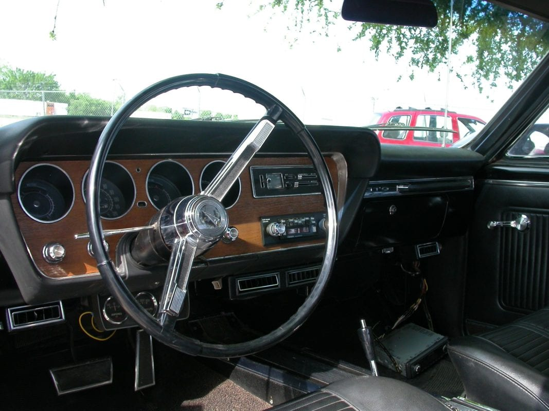 Dashboard Of A 1949 Ford Pickup Truck Chevy Dash