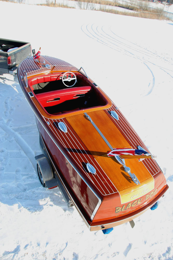 1946 20 Chris Craft Custom Runabout For Sale