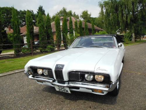 For Sale Mercury Cougar Convertible V8 302 1970 Muscle Car   Classic     For Sale Mercury Cougar Convertible V8 302 1970 Muscle Car   Image