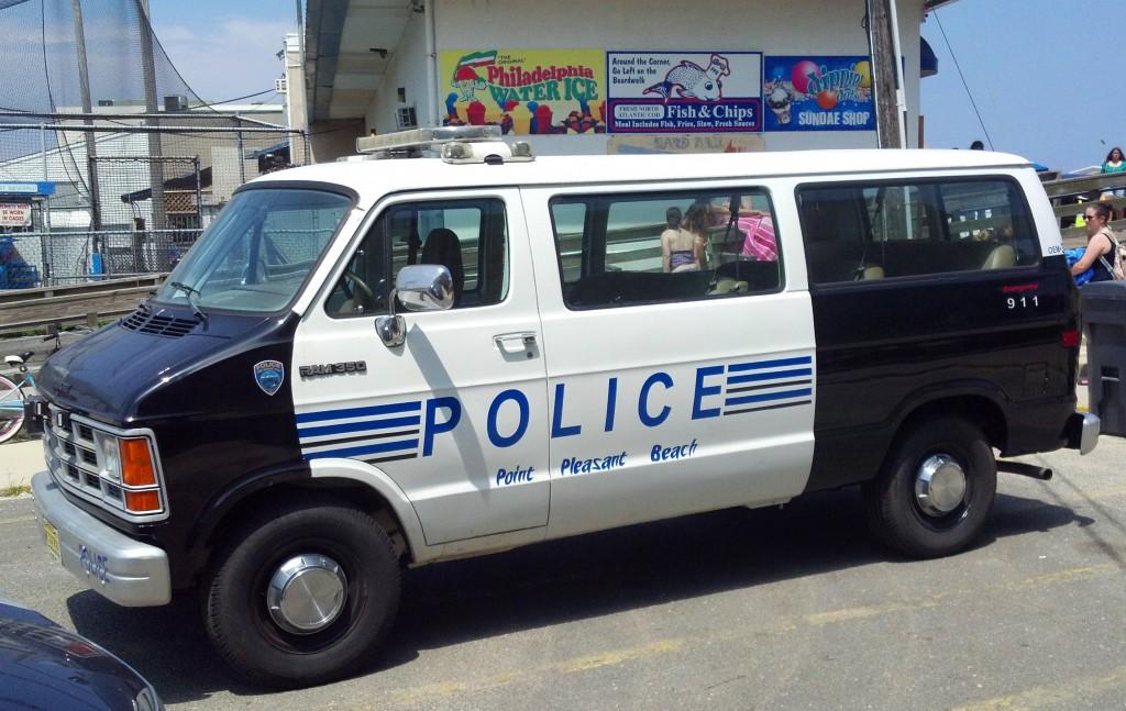 Matchbox Police Dodge Ram 1500