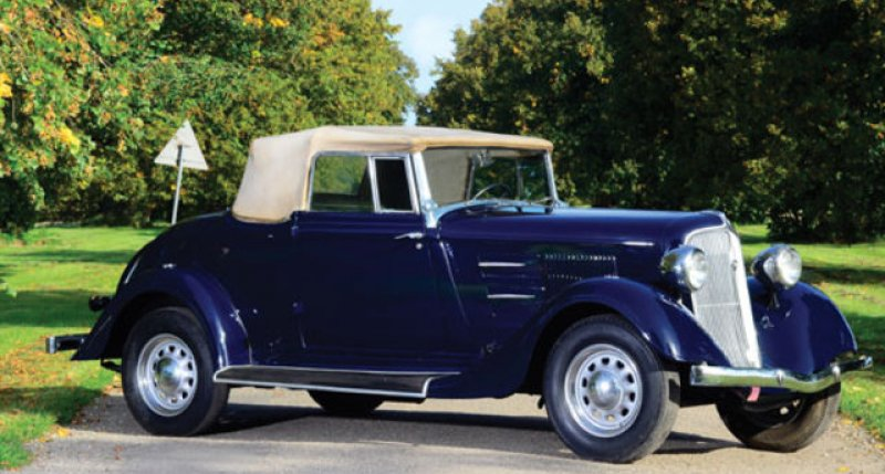1934 Plymouth Pe Convertible Coupe Classic Driver Market