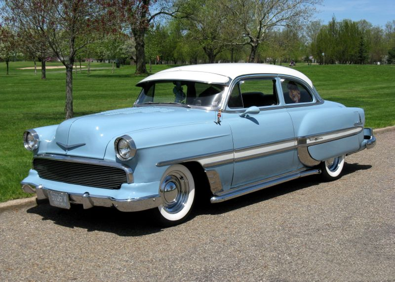 1954 Chevrolet Bel Air For Sale     Affordable Classics Classic Car Facts