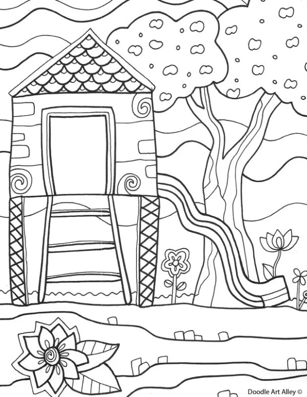 playground coloring pages # 74