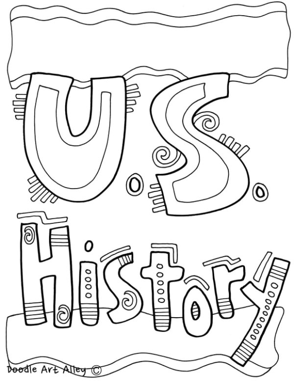 history coloring pages # 10