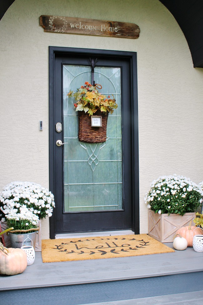 Front Porch Fall Decor Clean And Scentsible