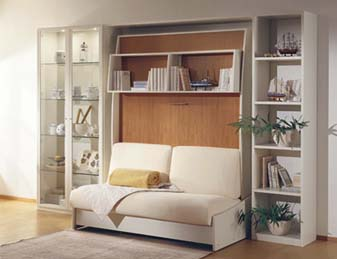 Liola Wall Bed System With Sofa