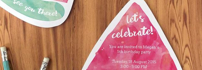 Kids Invitation Template