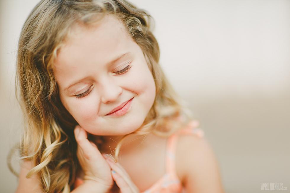 Quiet Smile by April Nienhuis