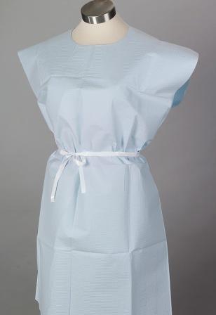 Gowns Disposable Paper Gowns 30 Quot X42 Quot Standard Blue 50
