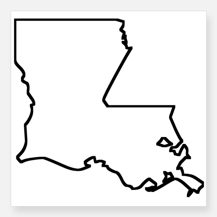 Louisiana Shape - ClipArt Best