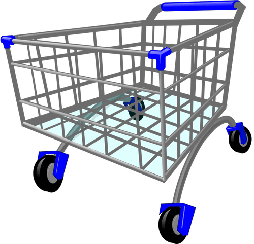 Cartoon Shopping Trolley - ClipArt Best