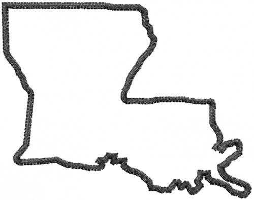 Louisiana Shape - ClipArt Best