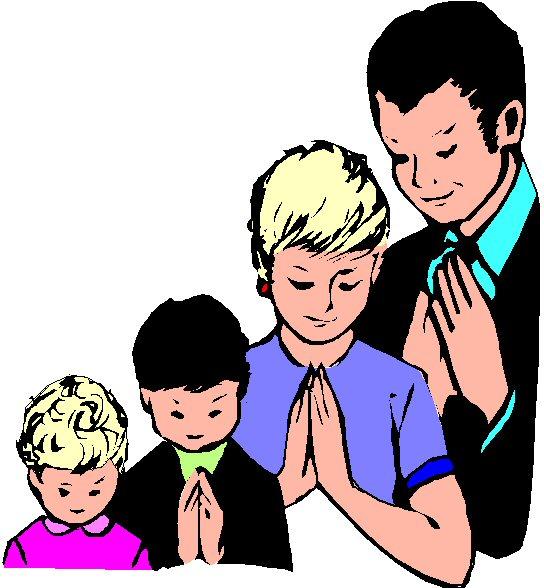 Family Prayer Clipart - ClipArt Best