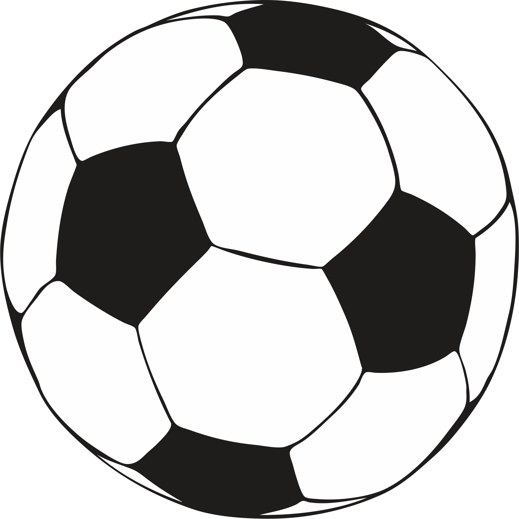 Printable Picture Of A Soccer Ball - ClipArt Best