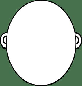 Best Photos of Blank Face Outline Clip Art - Cartoon Faces ...