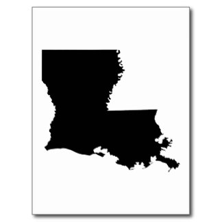 Louisiana Map Outline - ClipArt Best