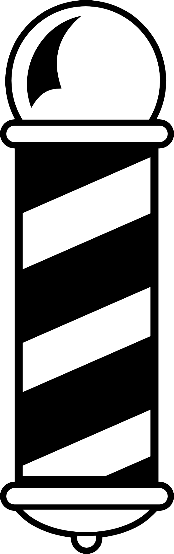 Barber Shop Pole Logo - ClipArt Best