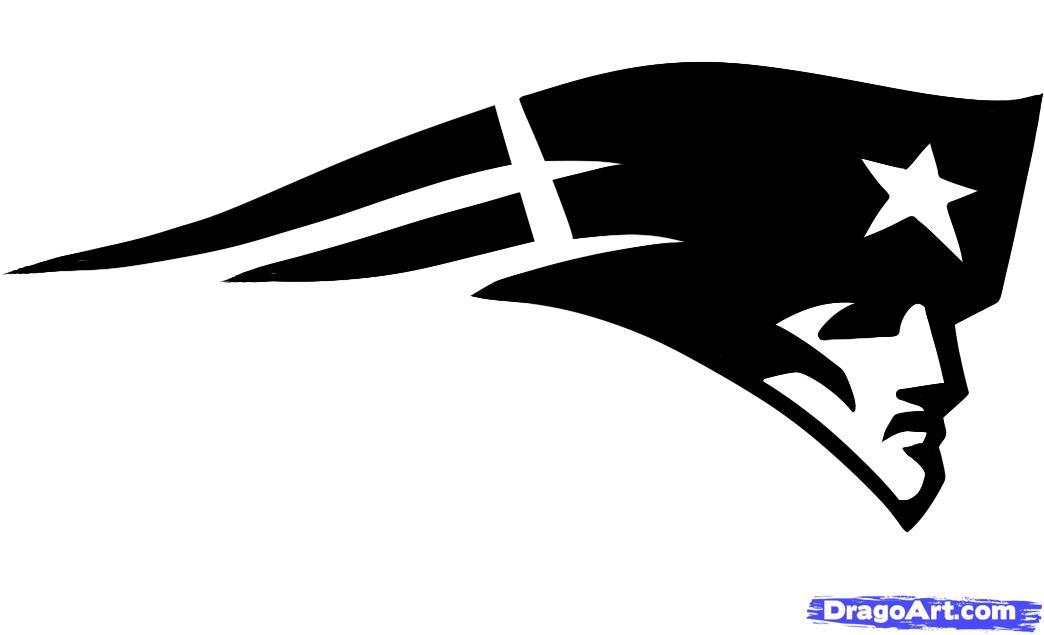 How To Draw The Patriots Logo New England Patriots Step ...