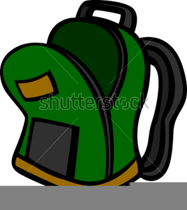 Open Backpack Clipart | Free Images at Clker.com - vector ...