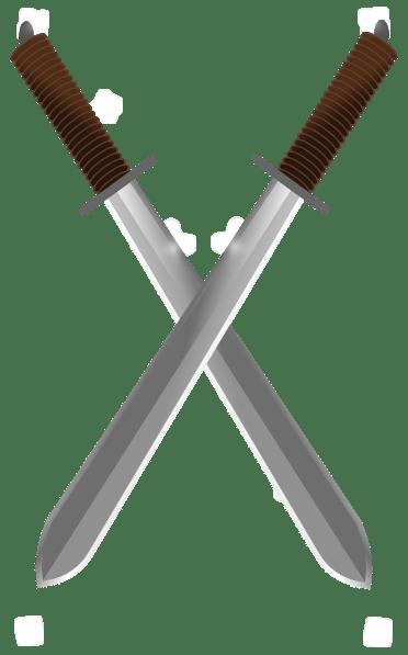 Tranpirent Sword Background