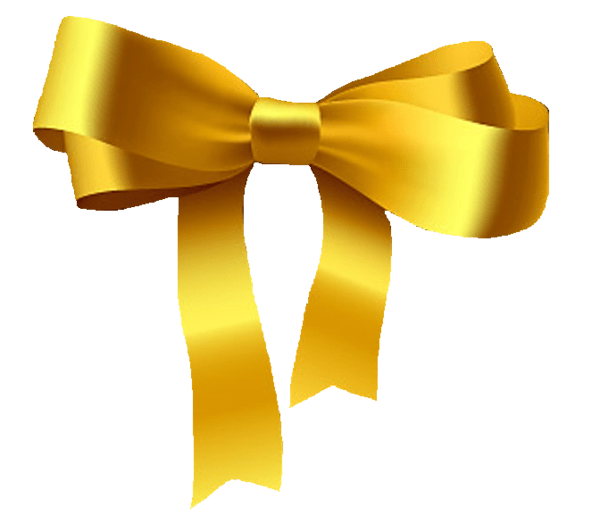 Gold Art Cheer Green Clip And