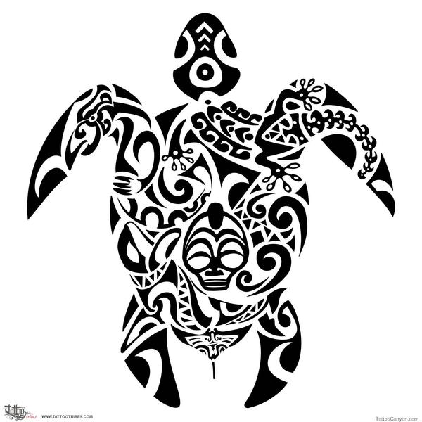 Transparent Tumblr Turtle