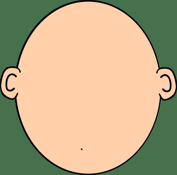 Plain Blank Head Clip Art at Clker.com - vector clip art ...