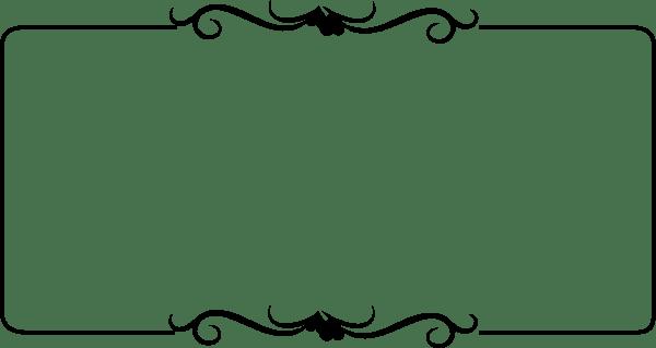 Rustic Page Border Vines