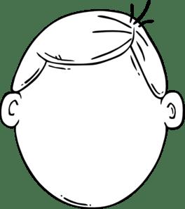 Boy Face Clip Art at Clker.com - vector clip art online ...