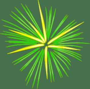 Large Green Fireworks Clip Art At Clker Com Vector Clip