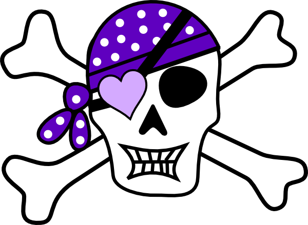 Patch Crossbones And Bandana Skull Eye