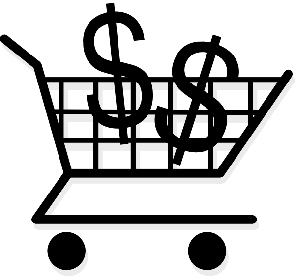 Scrip Shopping Cart Clip Art at Clker.com - vector clip ...