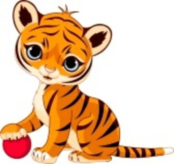 Jaguar Baby Cartoon Cute