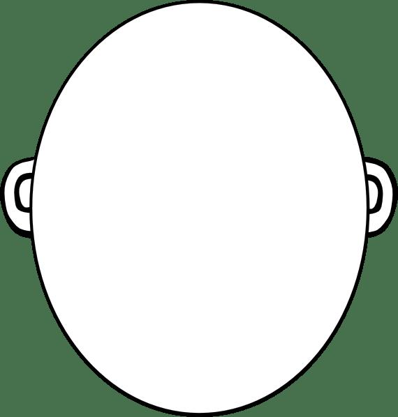 Totetude Blank Face Clip Art at Clker.com - vector clip ...