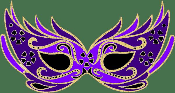 Fleur Crown Clip Mardi Art Gras Lis De