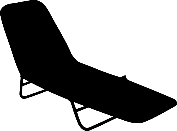 Clip Art Of Pool Furniture
