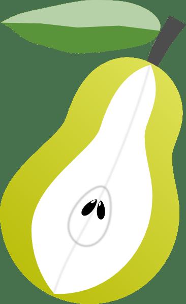 Peer Fruit Clip Art At Clker Com Vector Clip Art Online Royalty Free Amp Public Domain