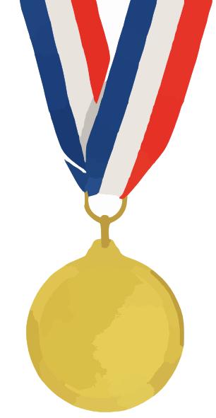 Gold Medal Clip Art at Clker.com - vector clip art online ...