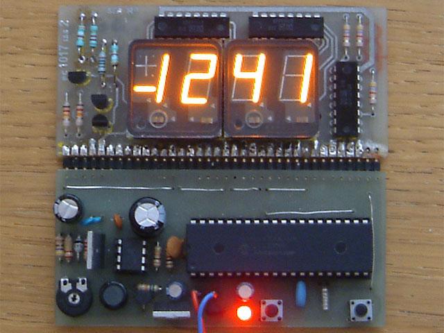 Led Clock Display
