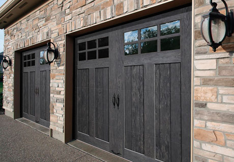 Residential Garage Doors   AE Door   Window CANYON RIDGE     collection LIMITED EDITION series garage doors