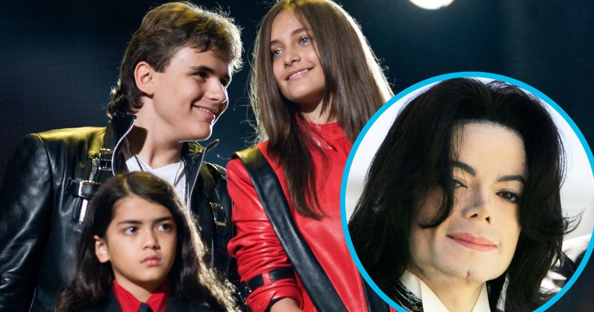 Michael Jackson's Kids: See Prince, Paris and Blanket ...