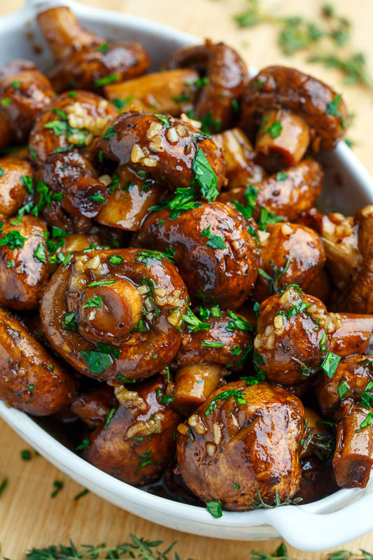 Bacon Appetizer Mushroom